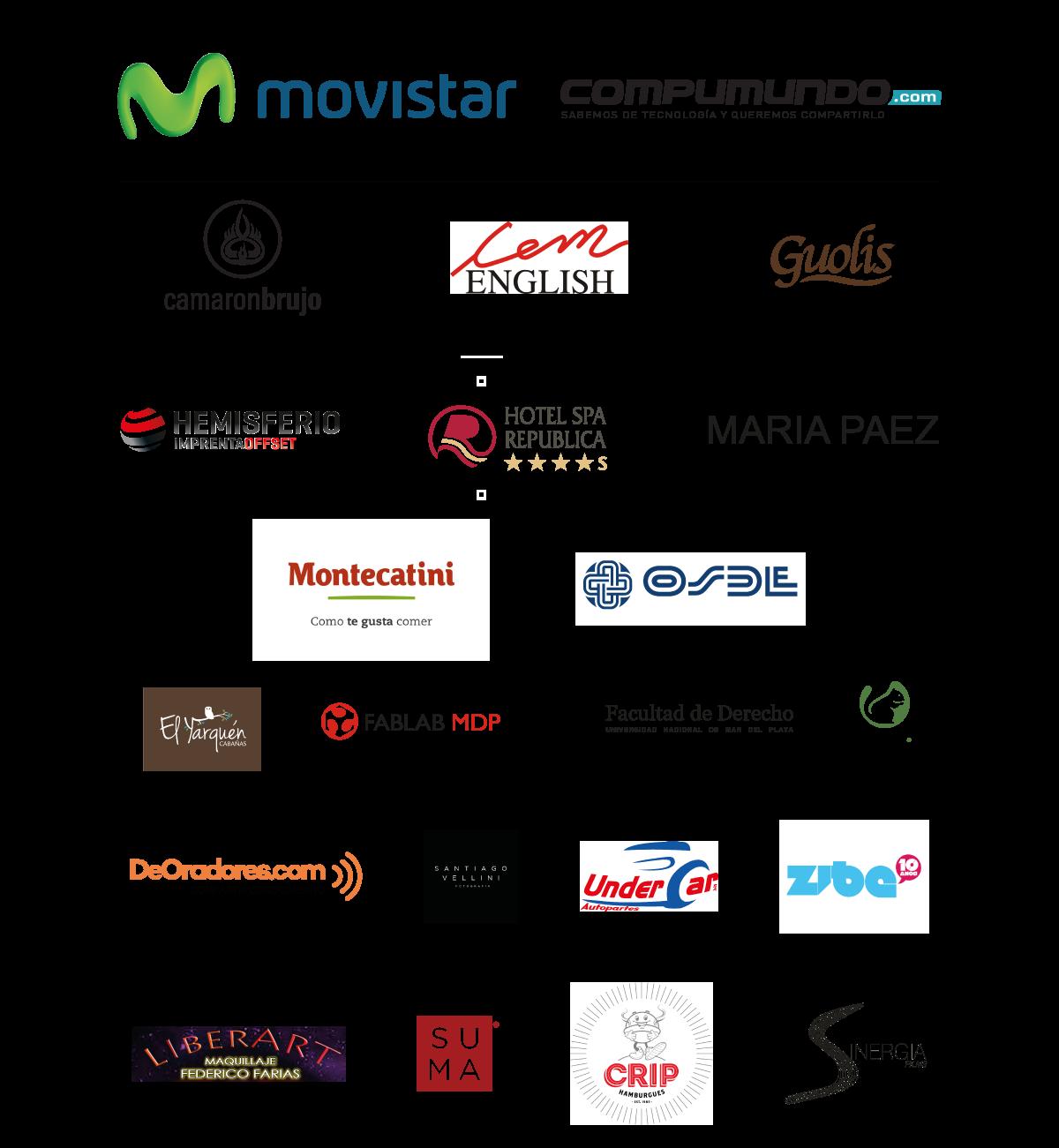 Sponsors TEDx Mar del Plata 2015